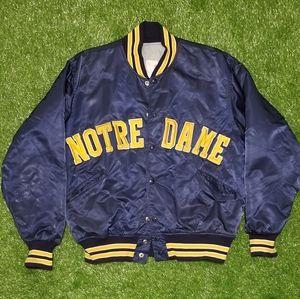 Vintage 80s Notre Dame Fighting Irish Varsity